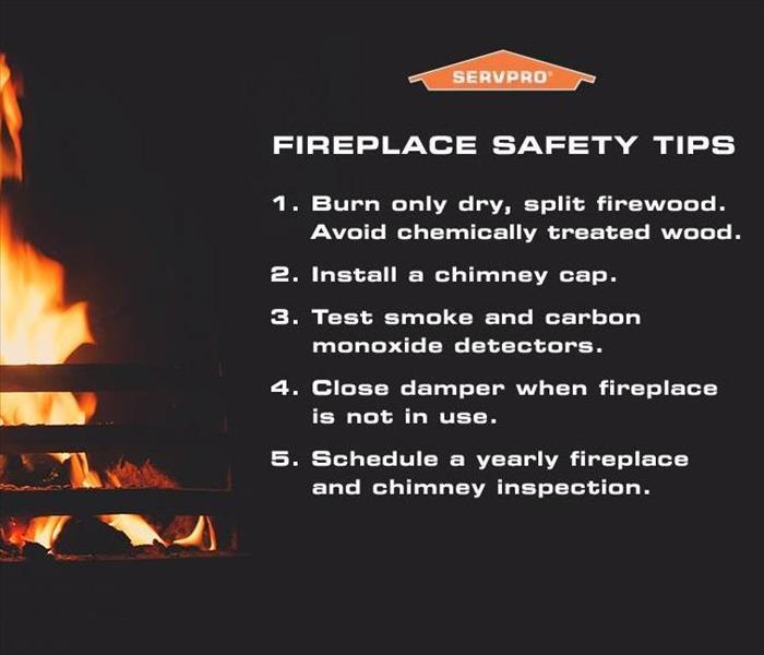 Fireplace Safety Tips Servpro Of Mundelein North Wauconda