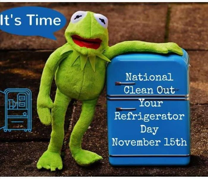 Community National Clean out your Refrigerator Day!