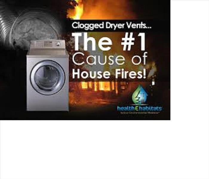 Fire Damage Dryer Fire Safety Tips