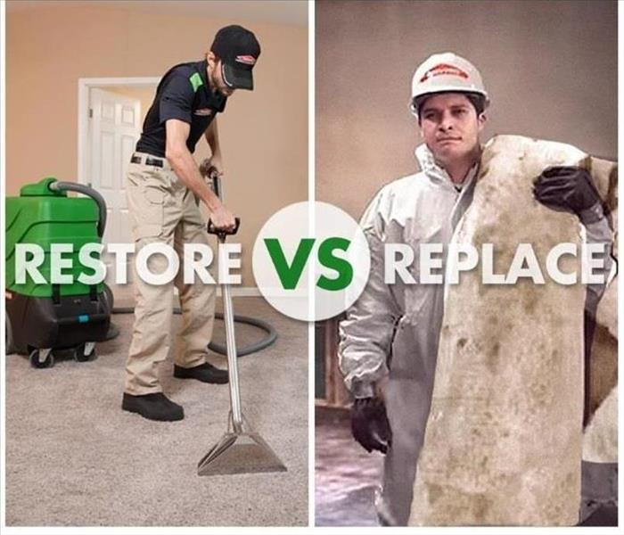 Why SERVPRO Restore vs Replace